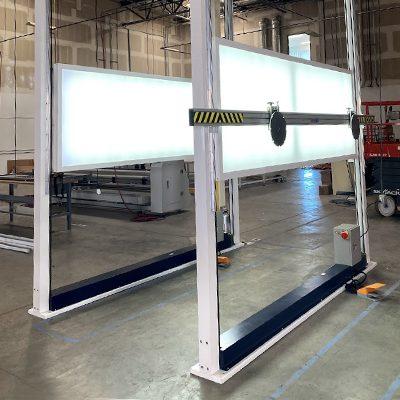 Ultratab Factory - Ultra PTX Inspection Hoist Assembly